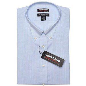 Men's Traditional Fit Long Sleeve Dress Shirt